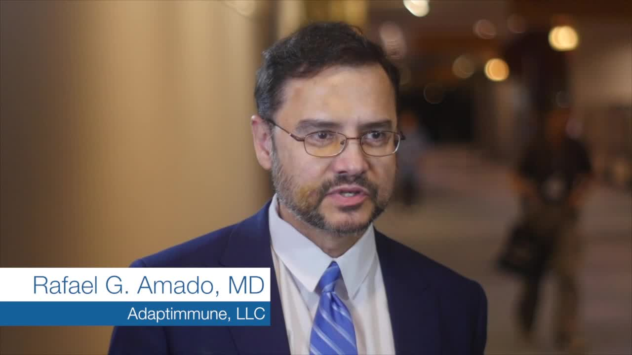 Infusion of T-Lymphocytes with T-Cell Receptor  MRCLS could be sensitive to therapy