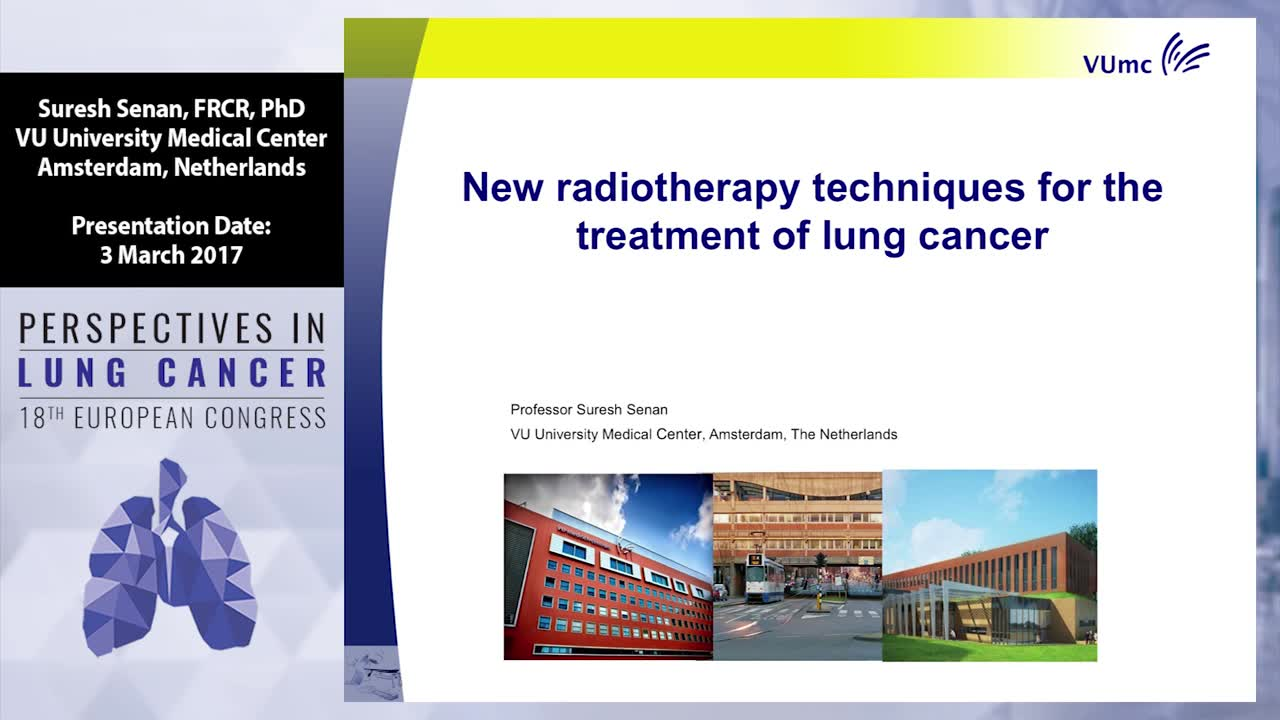 New radiotherapy techniques for the treatment of lung cancer