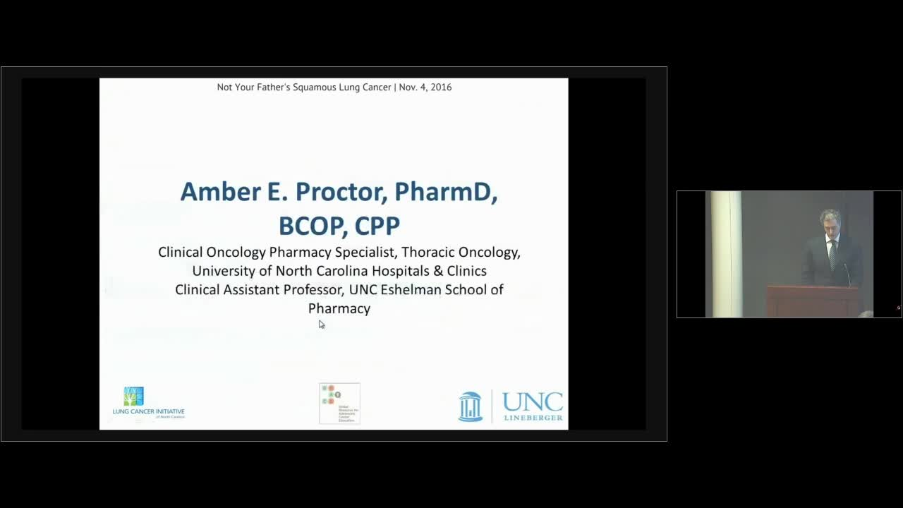 Squamous Lung Cancer - Supportive Care for Patients [720p]