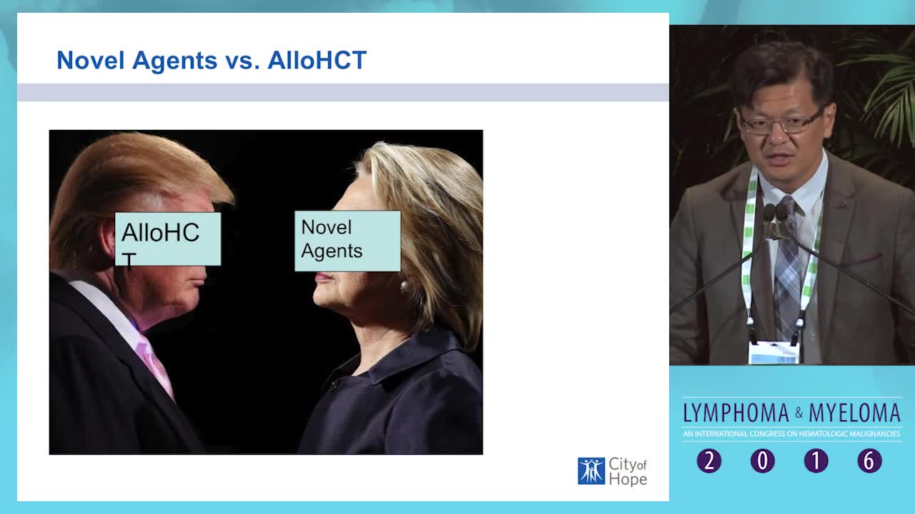 Debate: Hodgkin lymphoma patient who relapses after autologous SCT - Allogeneic SCT