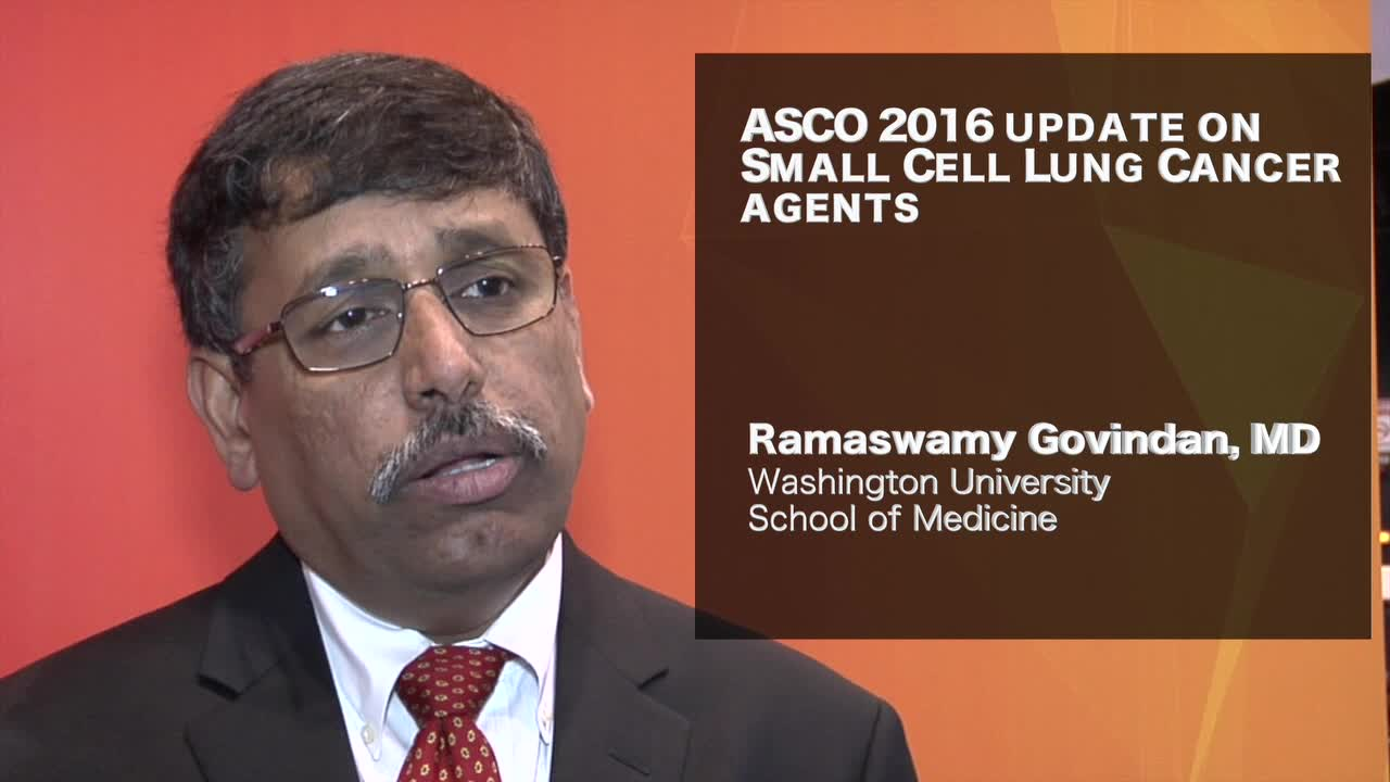 ASCO 2016 update on Small Cell Lung Cancer agents