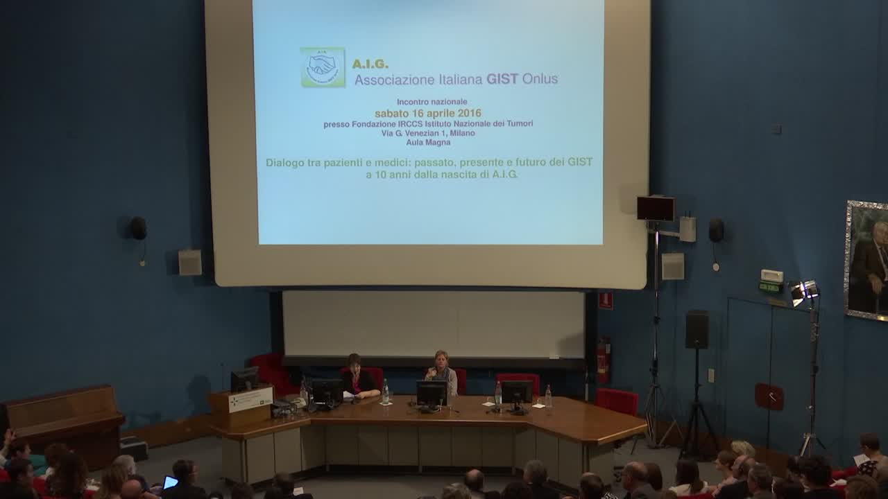 23:17 A.I.G. Associazione Italiana GIST Onlus – Discussione multidisciplinare quinta parte