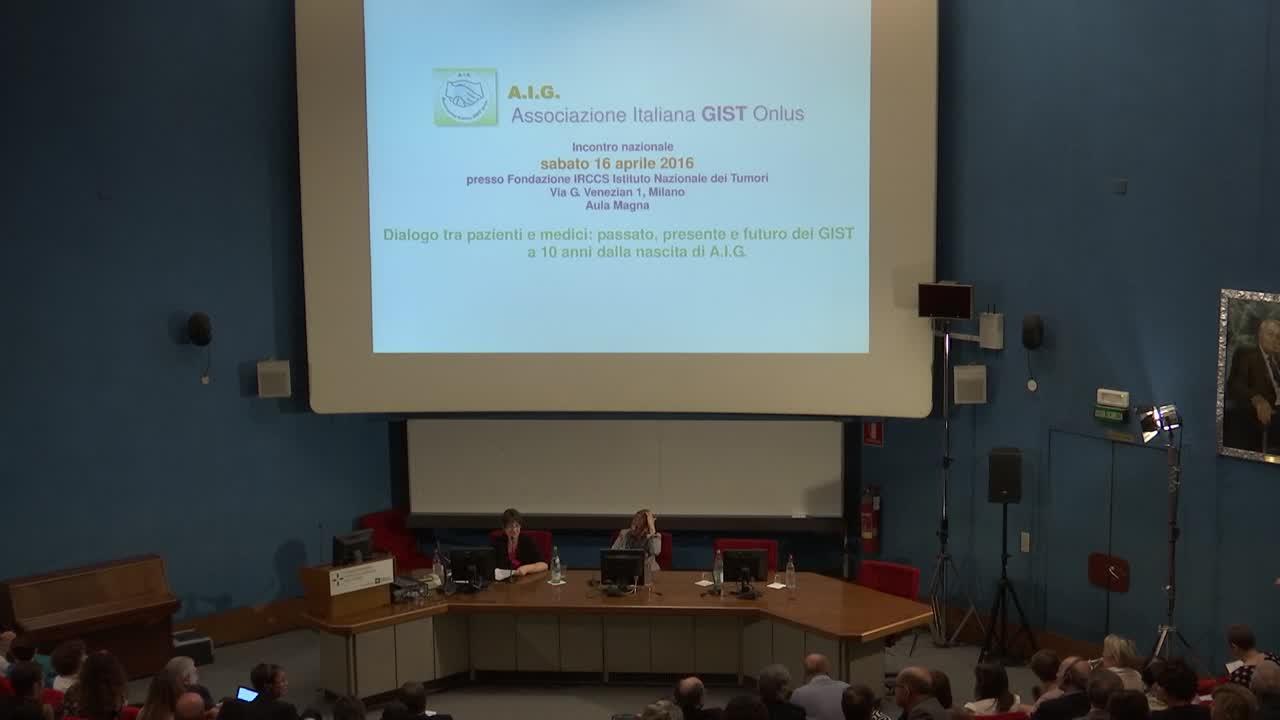 5 Gruppo multidisciplinare e multicentrico: numerosi medici esperti in GIST, provenienti da tutto il paese, rispondono alle domande raccolte tra i pazienti - 5.a parte