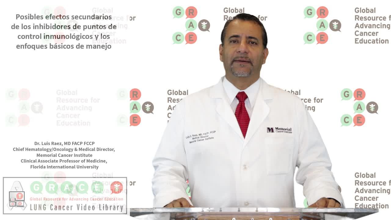 Posibles efectos secundarios de los inhibidores de puntos de control inmunológicos y los enfoques básicos de manejo