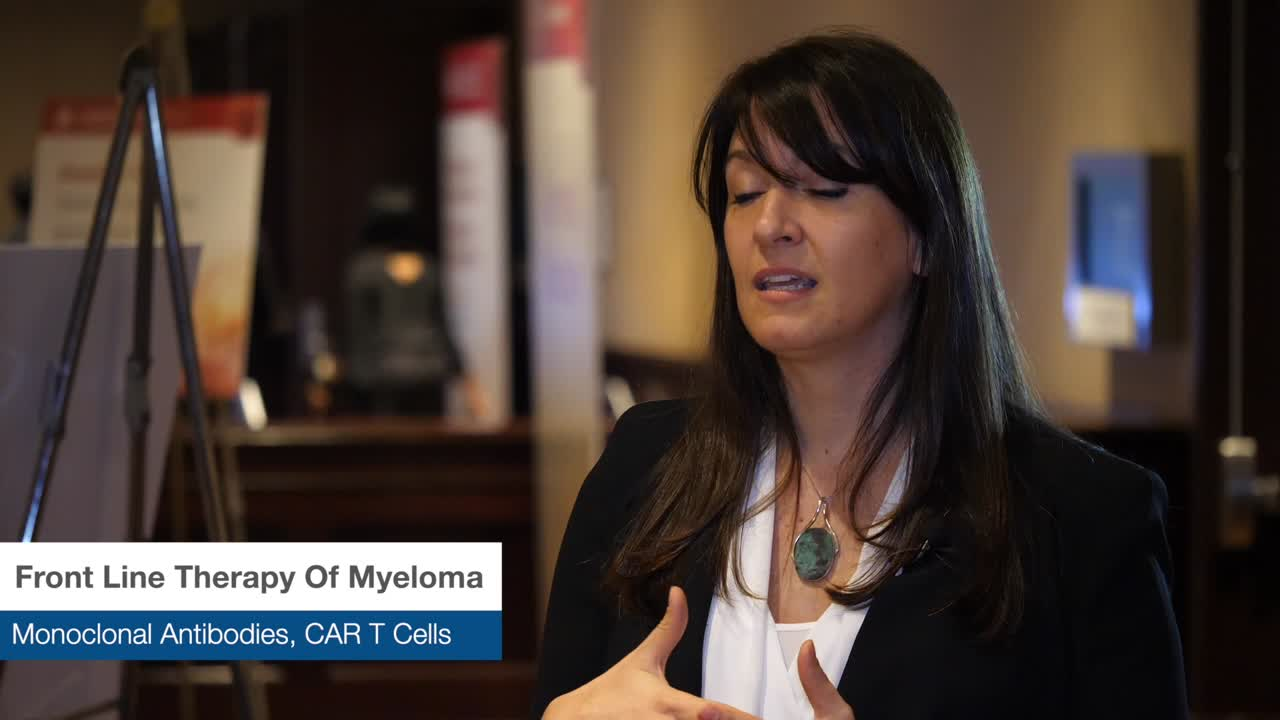 Front Line Therapy Of Myeloma