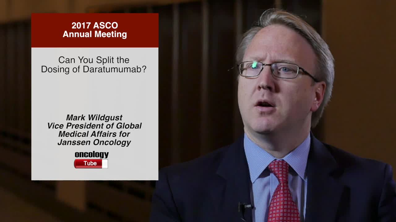 Can You Split the Dosing of Daratumumab?