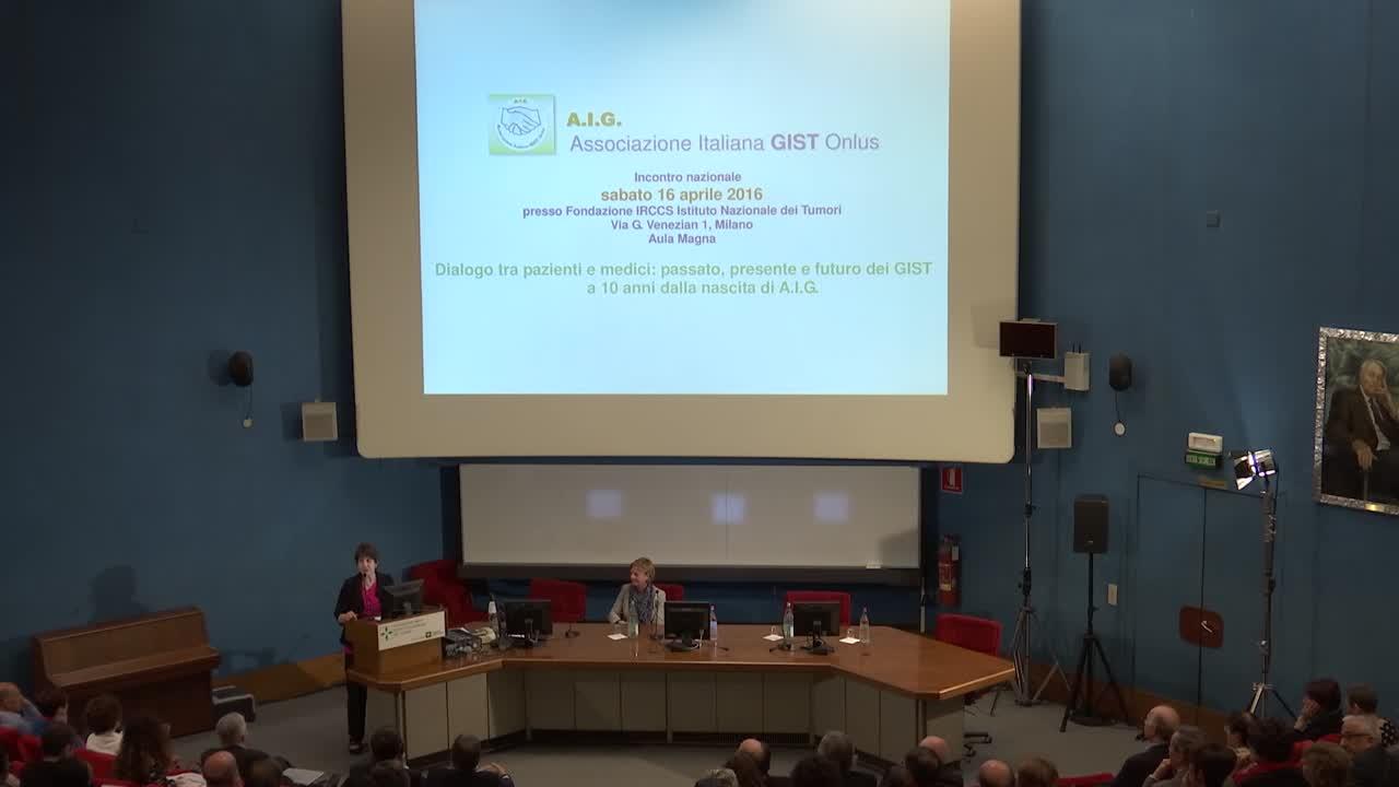 Milano 16 aprile 2016: Convegno nazionale dell'Associazione Italiana GIST Onlus