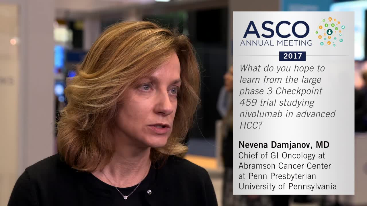 Phase 3 Checkpoint 459 Trial: Nivolumab in advanced HCC