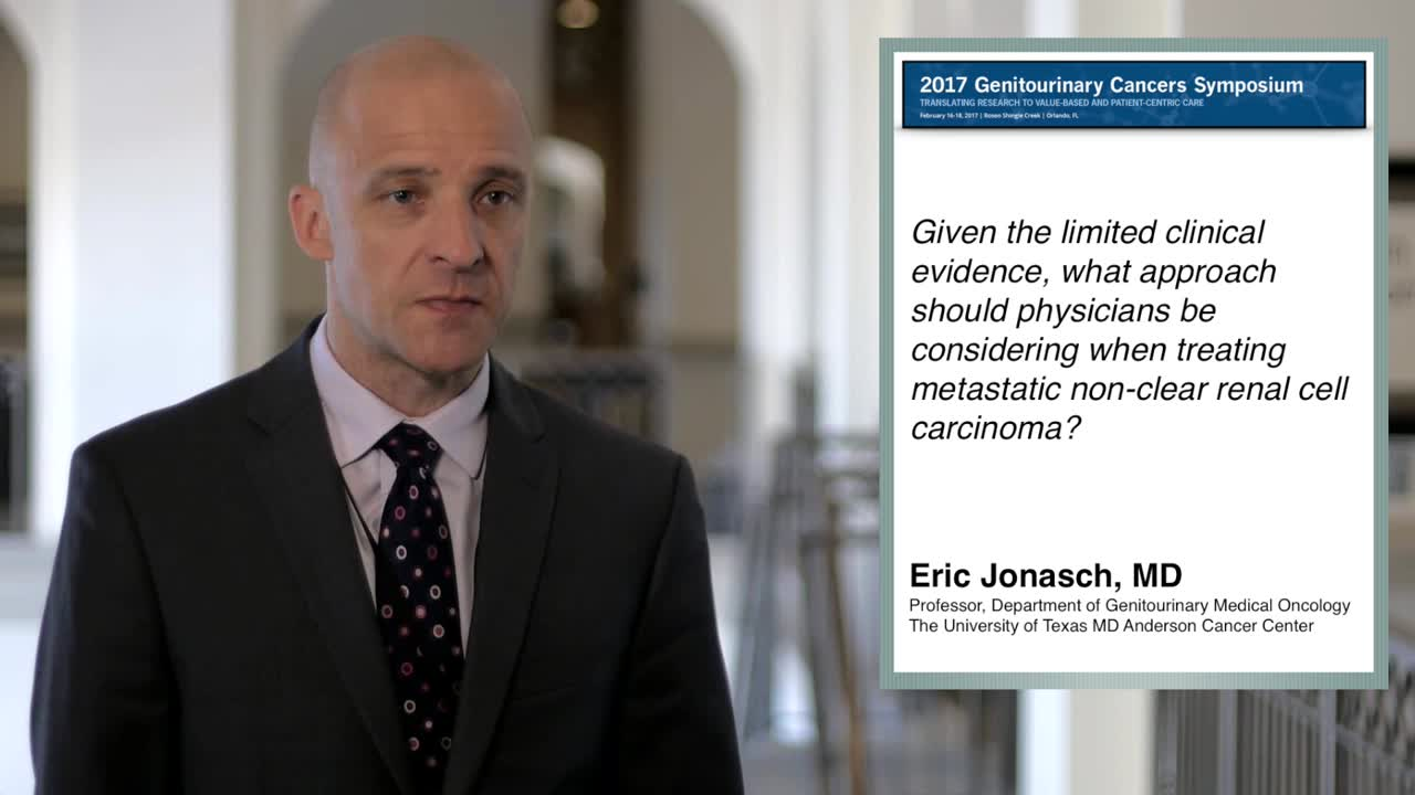Approaches When Treating Metastatic Non-Clear Renal Cell Carcinoma