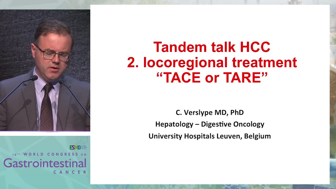Tandem Talk 3: Hepatocellular carcinoma - Locoregional Treatment