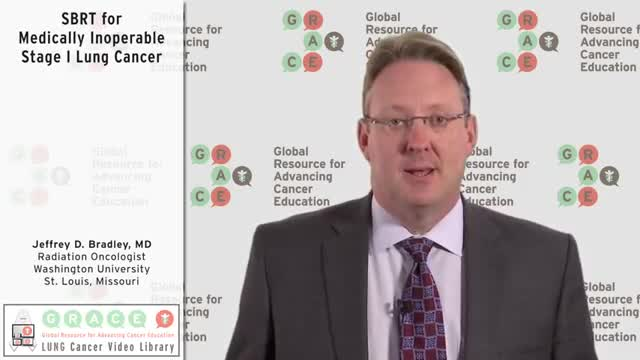 SBRT for Medically Inoperable Stage I Lung Cancer [360p]