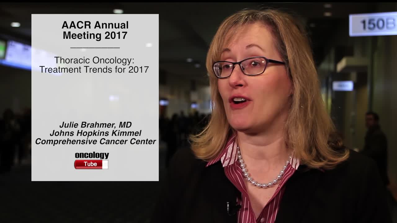 Thoracic Oncology: Treatment Trends for 2017