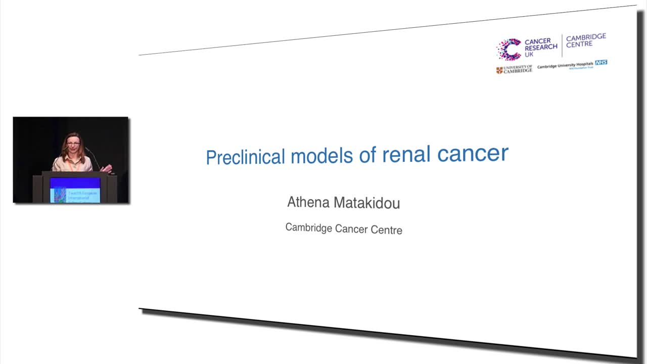 Preclinical models of renal cancer #KidneyCancer