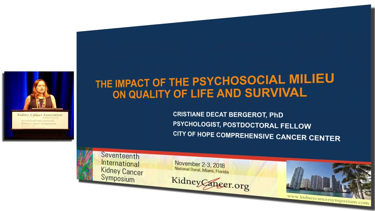 The Impact Of The Psychosocial Milieu On Quality Of Life And Survival
