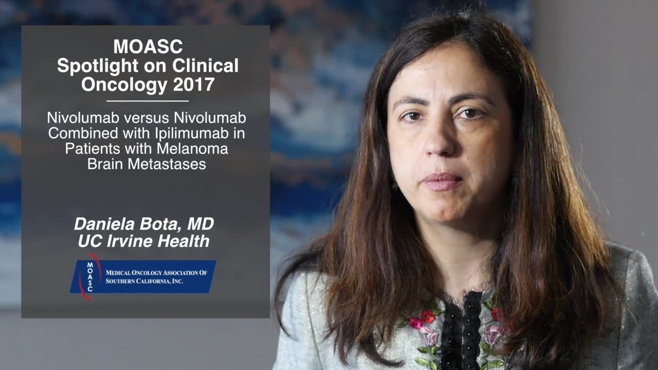 Nivolumab versus Nivolumab Combined with Ipilimumab in Patients with Melanoma Brain Metastases