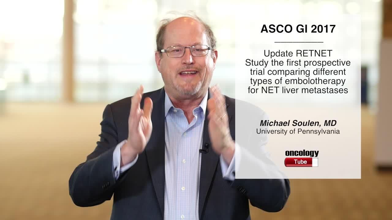 Randomized Embolization Trial for NeuroEndocrine Tumor Metastases To The Liver