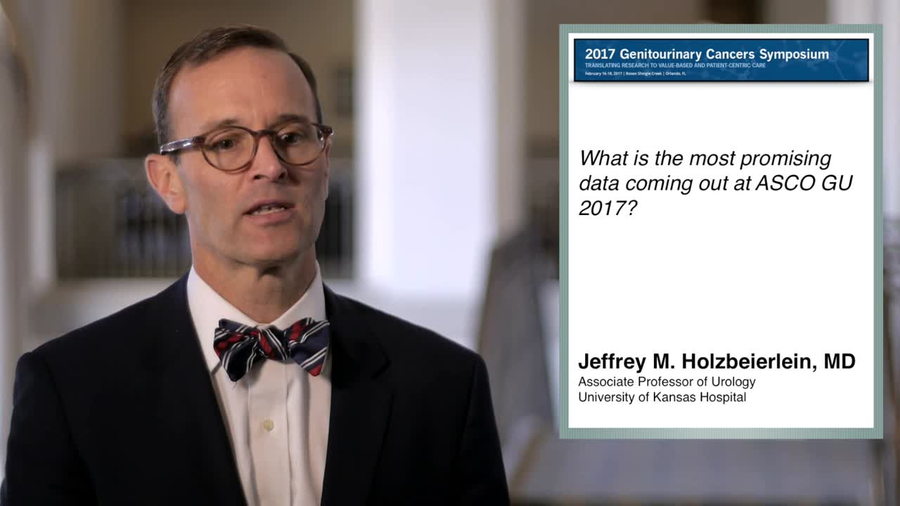 Immunotherapy: The Most Promising Data Coming Out of Annual Meeting GU 2017