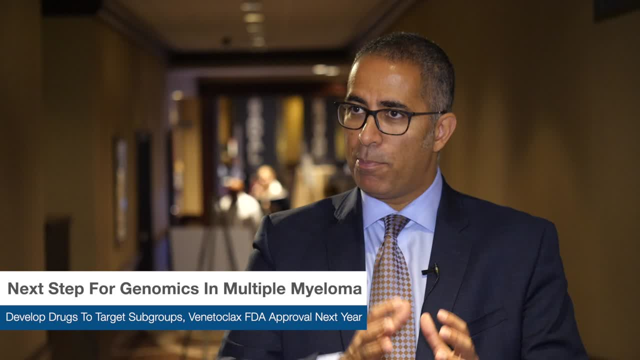 Next Step For Genomics In Multiple Myeloma