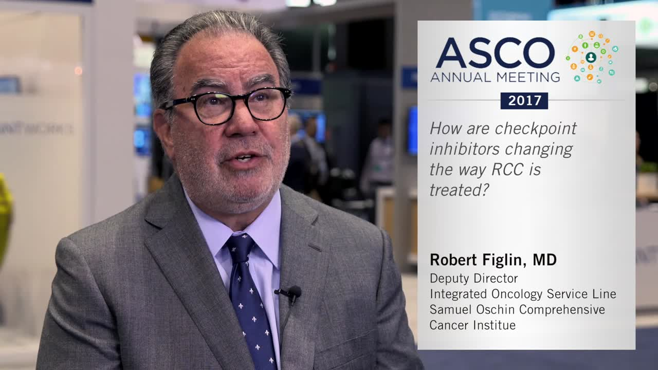 How are checkpoint inhibitors changing the way RCC is treated?