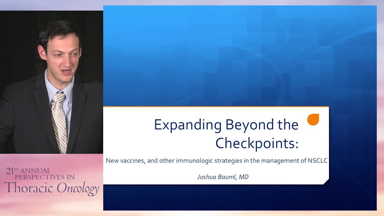 Expanding beyond the checkpoints: New vaccines and other immunologic strategies for NSCLC
