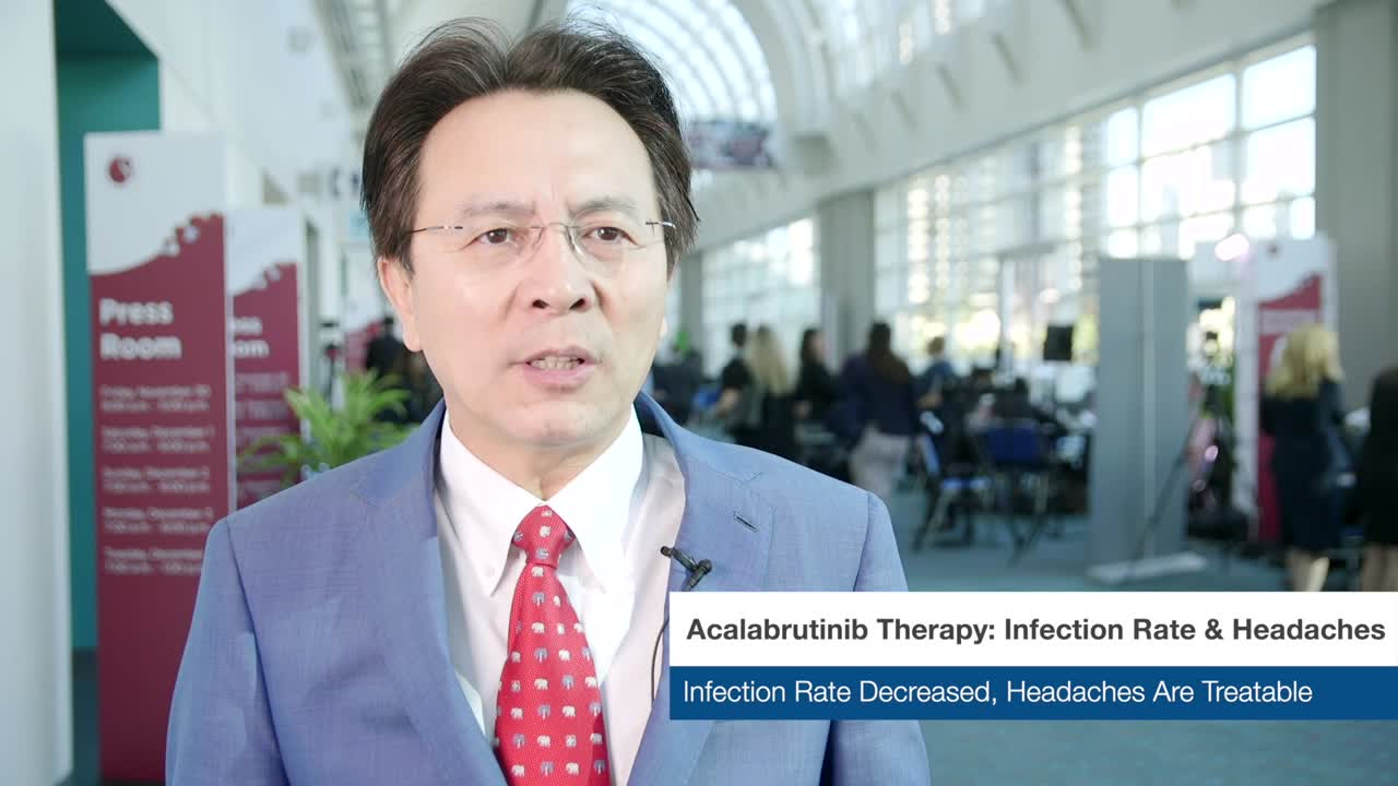 Acalabrutinib Therapy: Infection Rate & Headaches