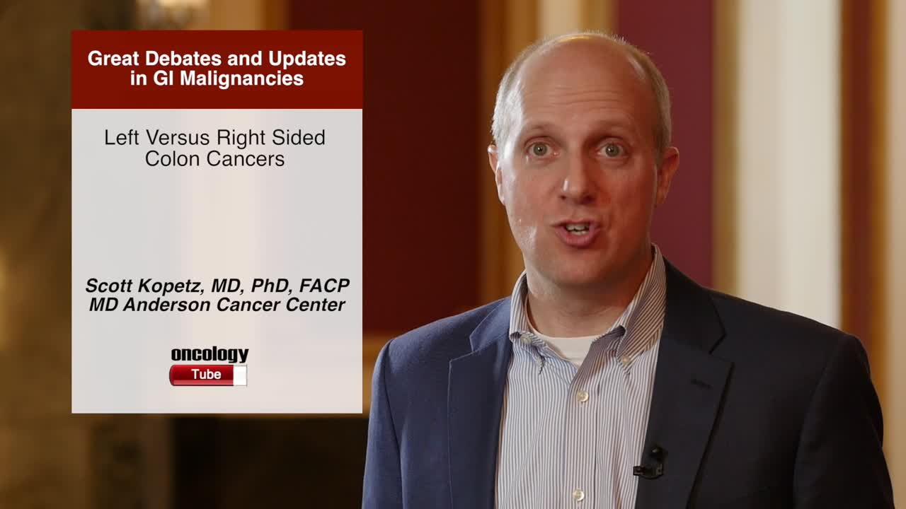 Left Versus Right Sided Colon Cancers