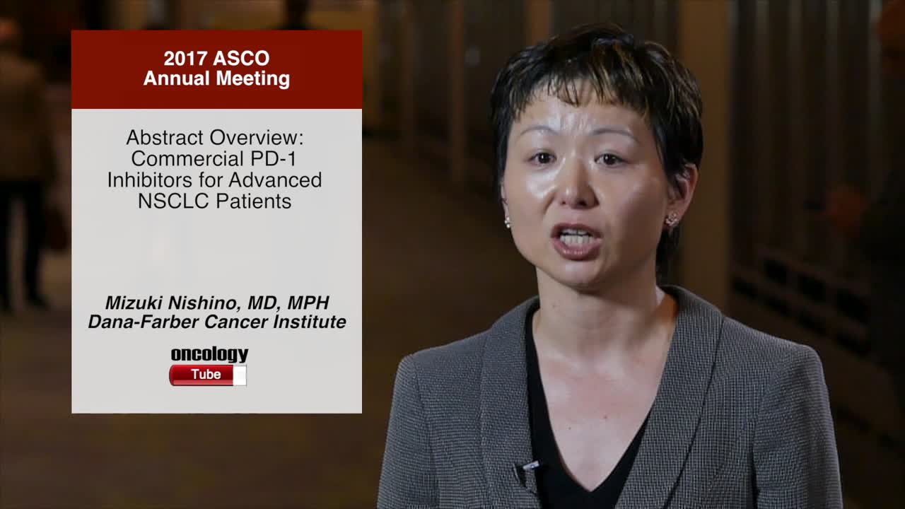 Abstract Overview: Commercial PD-1 Inhibitors for Advanced NSCLC Patients