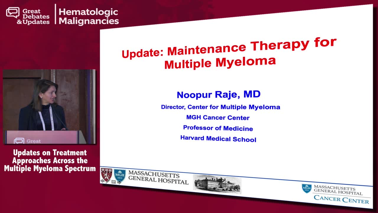 Multiple Myeloma Update: Maintenance Therapy