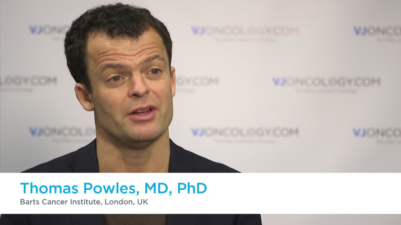 BISCAY trial for bladder cancer - trial design and its potential impact on clinical practice Thomas Powles, MD