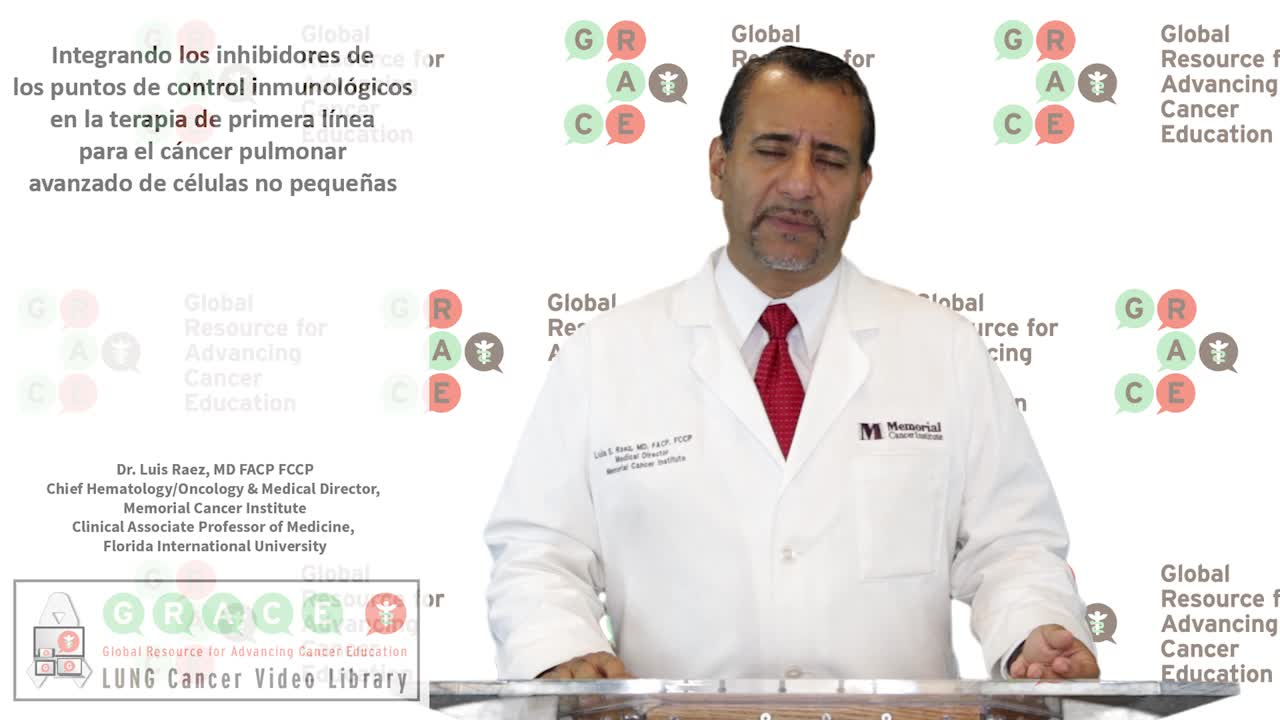Integrando los inhibidores de los puntos de control inmunológicos en la terapia de primera línea para el cancer pulmonar avanzado de células no pequeñas