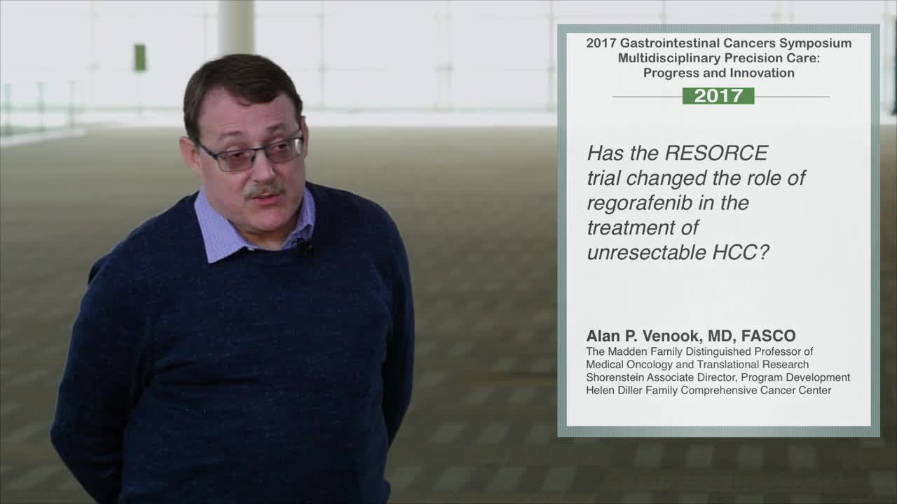 RESORCE Trial: Role of Regorafenib in Unresectable HCC Treatment