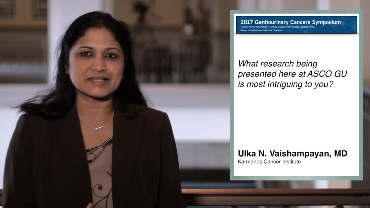 Annual Meeting GU 217: New Research on Immunotherapy