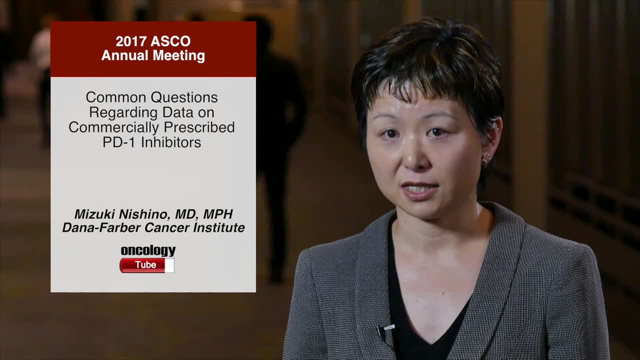 Common Questions Regarding Data on Commercially Prescribed PD-1 Inhibitors