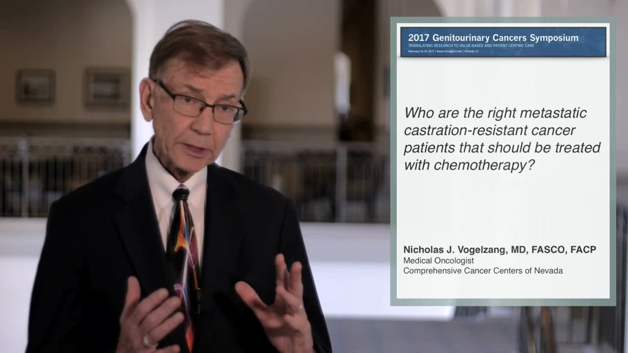 All Metastatic Castration-Resistant Prostate Cancer Patients Should Be Treated with Chemotherapy