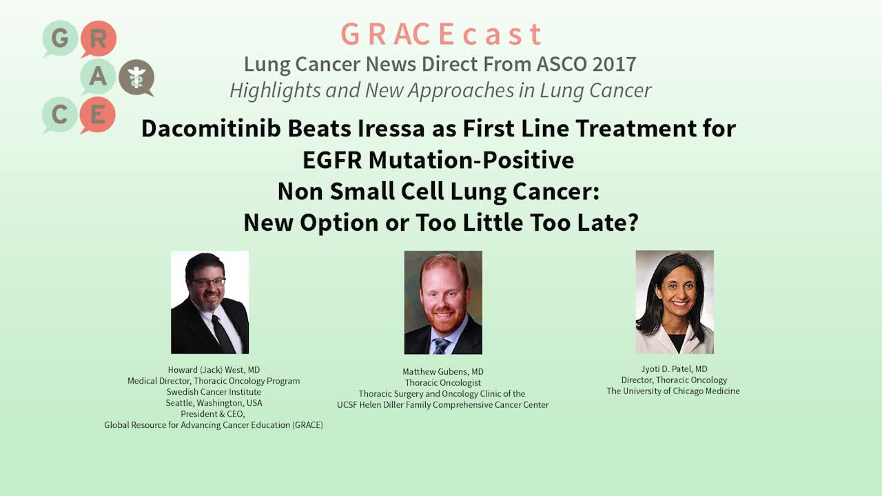 Dacomitinib Beats Iressa as First Line Treatment for EGFR Mutation-Positive NSCLC [720p]