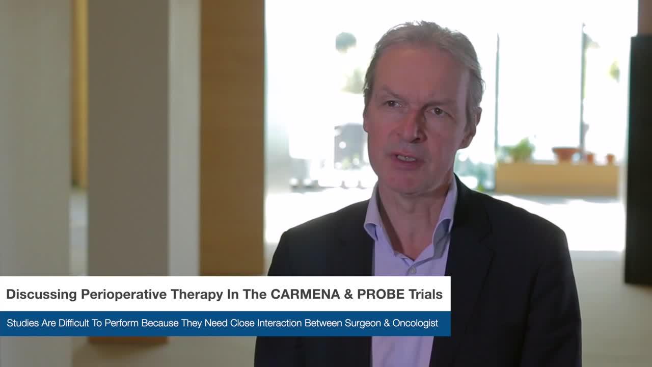 Discussing Perioperative Therapy In The CARMENA & PROBE Trials