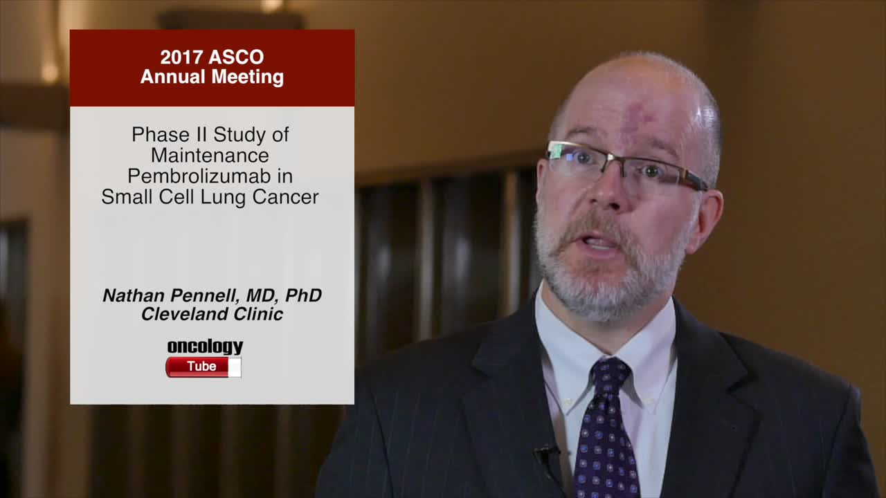 Phase II Study of Maintenance Pembrolizumab in Small Cell Lung Cancer