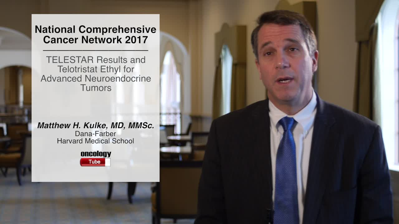 TELESTAR Results and Telotristat Ethyl for Advanced Neuroendocrine Tumors