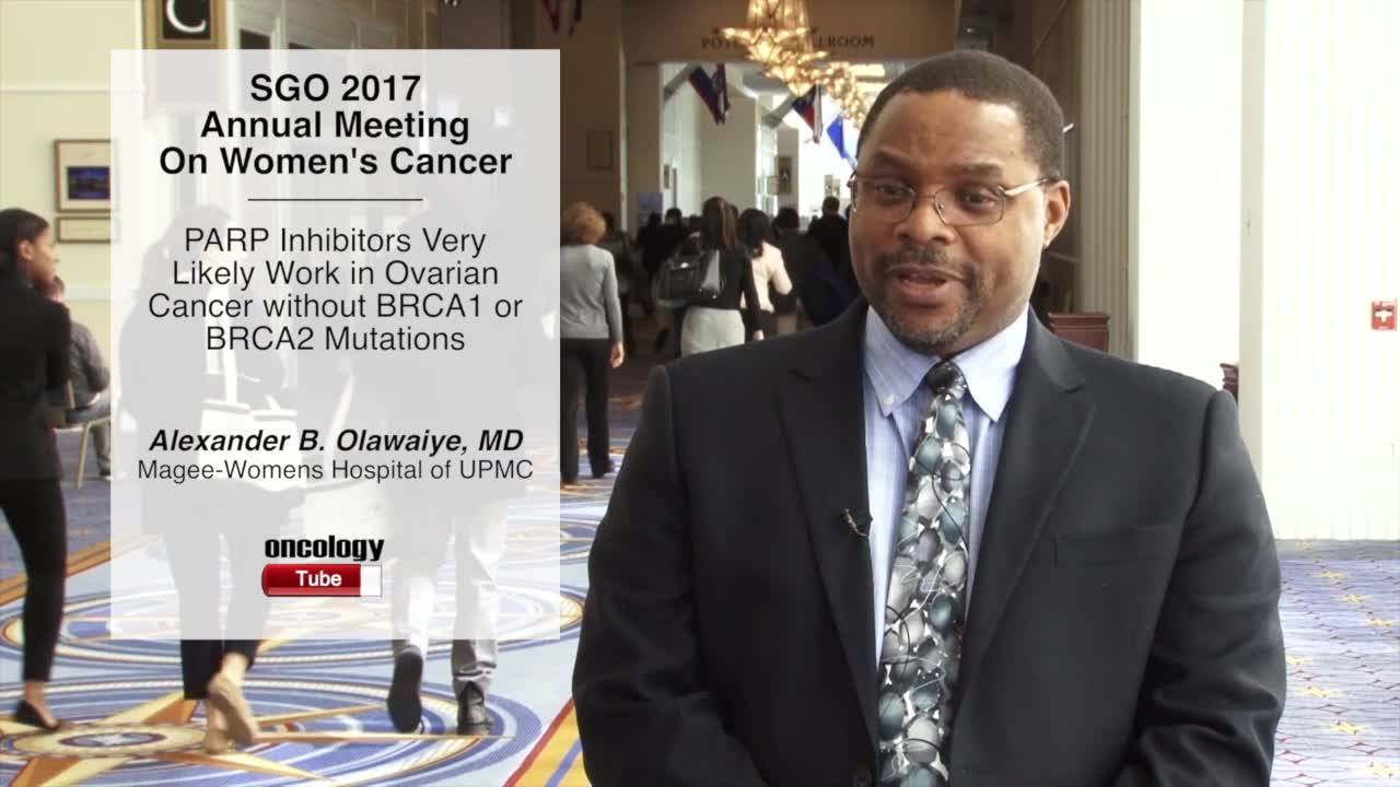 PARP Inhibitors Very Likely Work in Ovarian Cancer without BRCA1 or BRCA2 Mutations