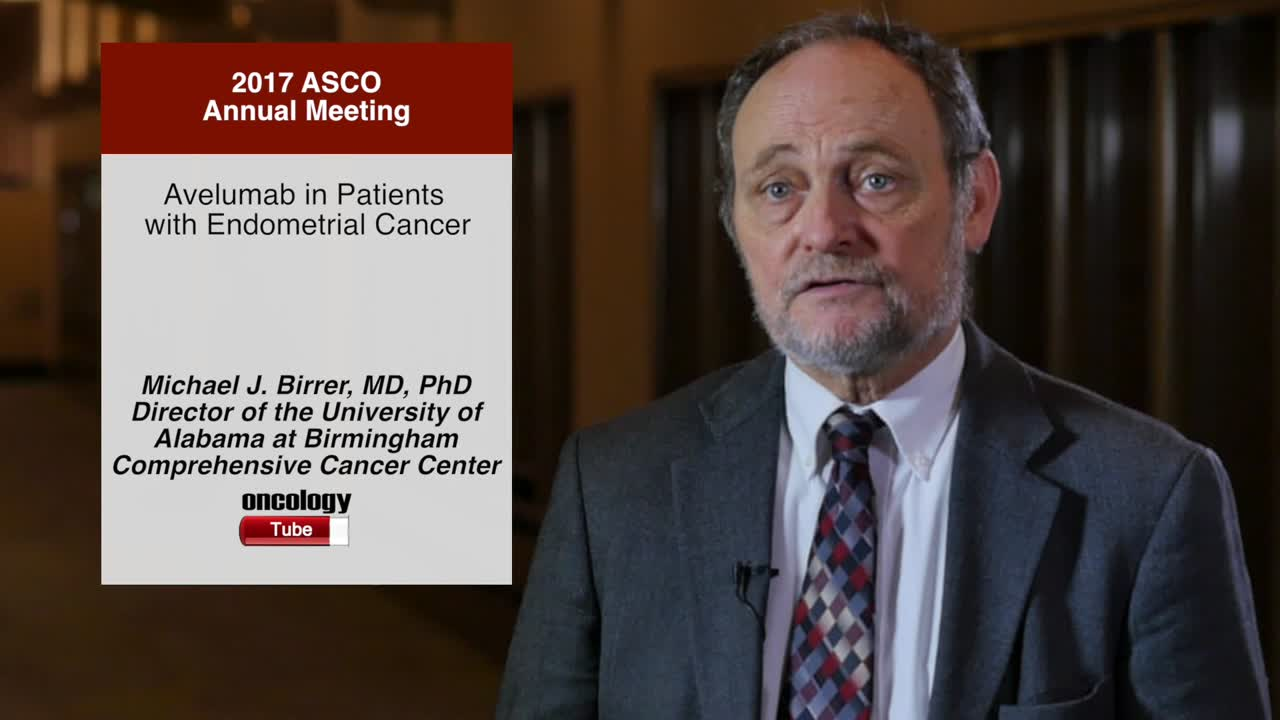 Avelumab in Patients with Endometrial Cancer