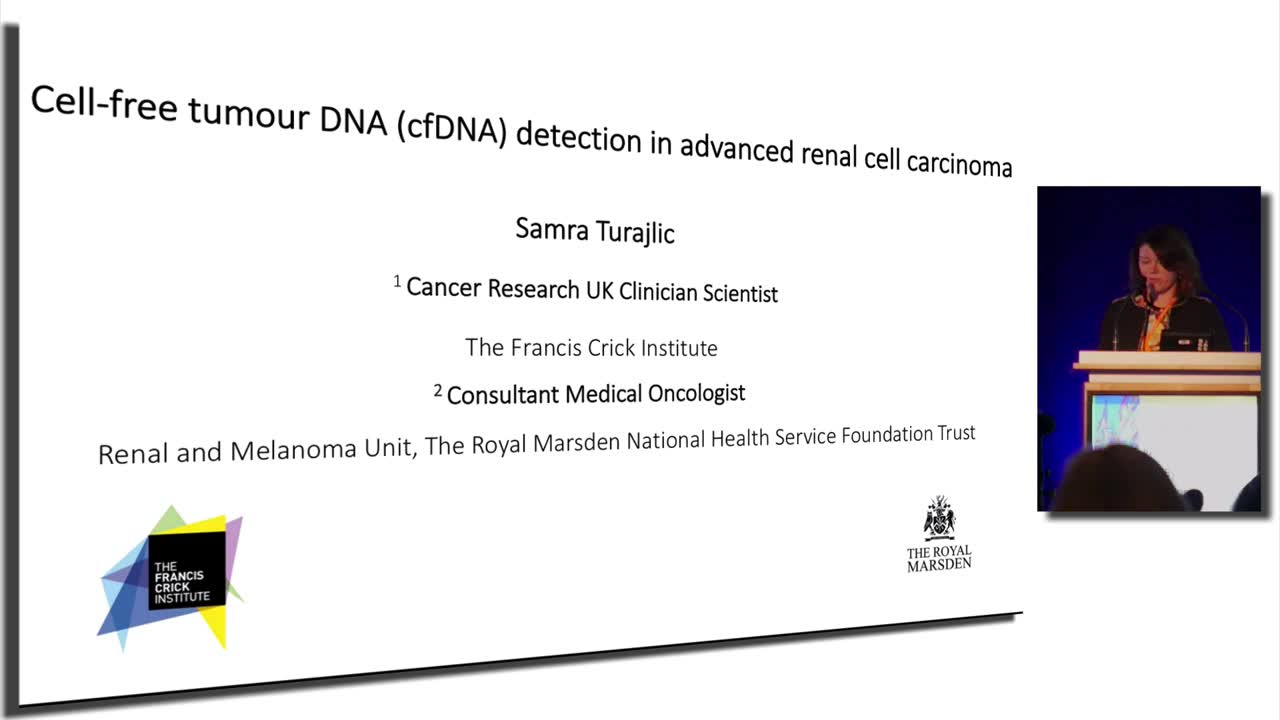 Cell-free tumour DNA (cfDNA) detection in advanced renal cell carcinoma