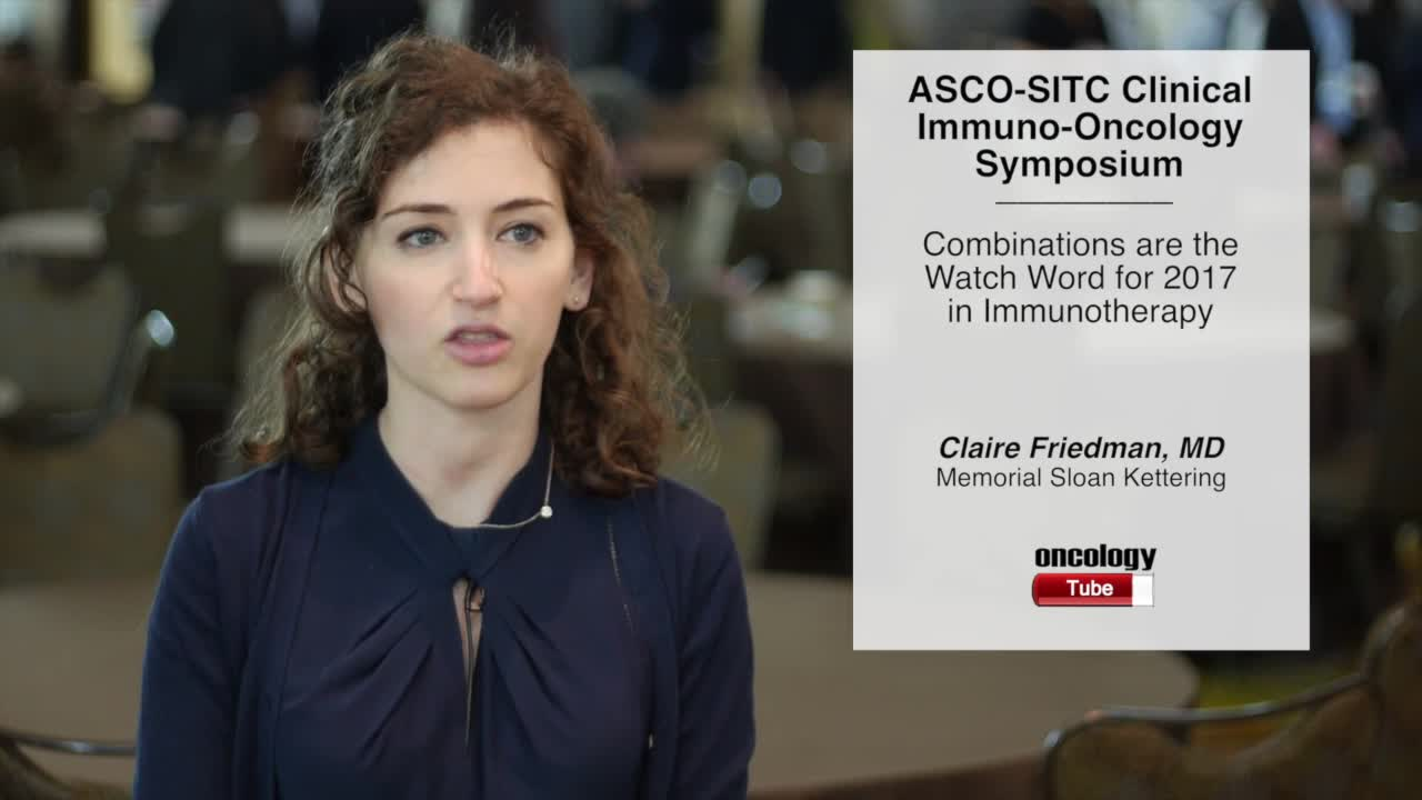 Combinations are the Watch Word for 2017 in Immunotherapy