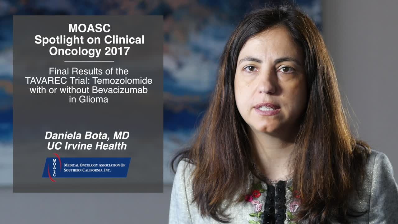 Final Results of the TAVAREC Trial: Temozolomide with or without Bevacizumab in Glioma