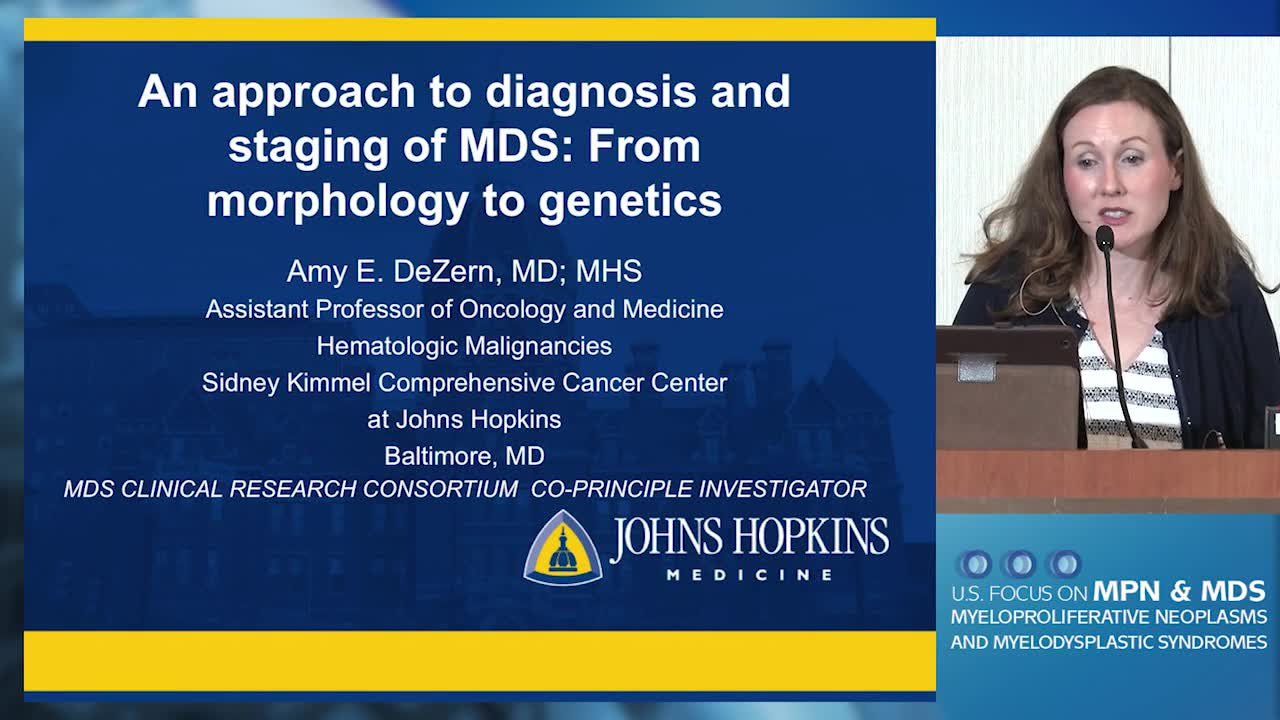 An Approach to Diagnosis and Staging of MDS: From Morphology to Genetics