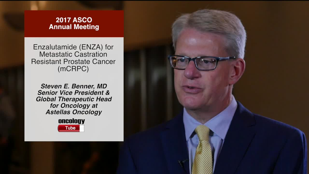 Enzalutamide (ENZA) for Metastatic Castration-Resistant Prostate Cancer (mCRPC)