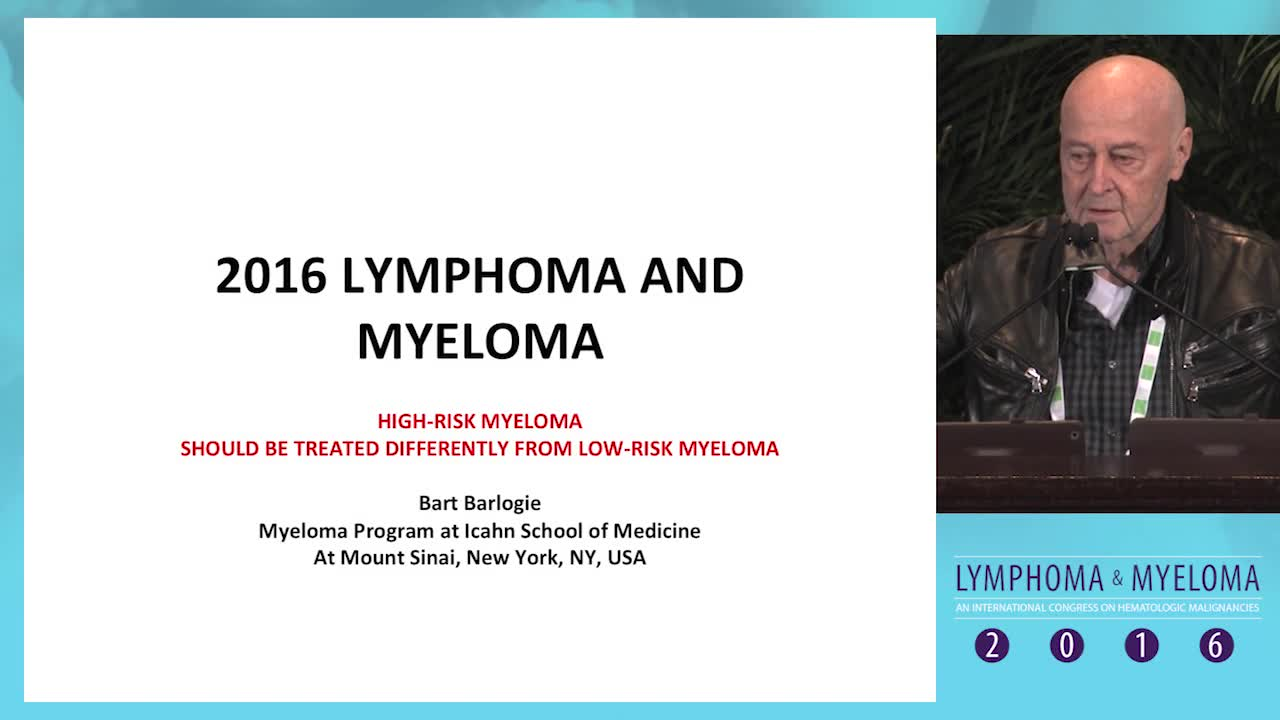 High-risk myeloma: How and should it be treated differently