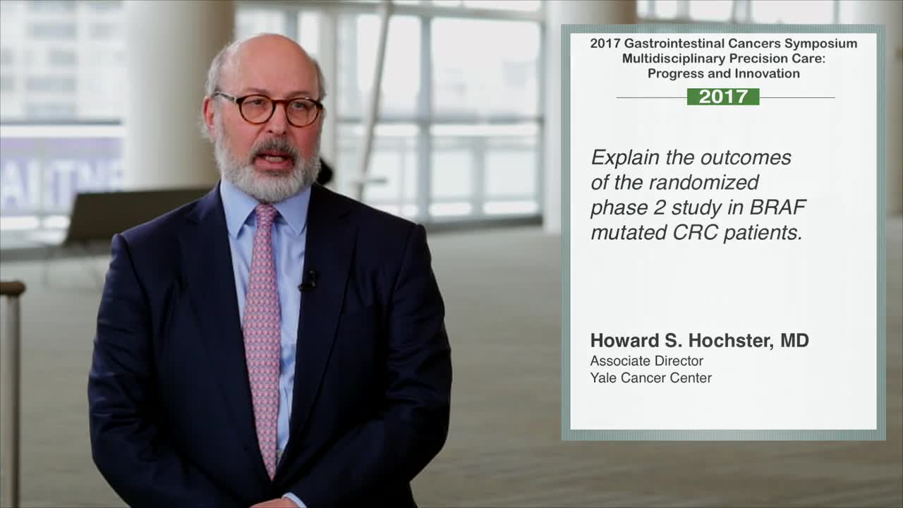 Outcomes of Randomized Phase 2 Study in BRAF-Mutated CRC Patients