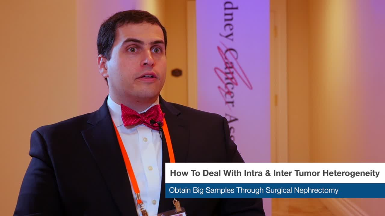 How To Deal With Intra & Inter Tumor Heterogeneity