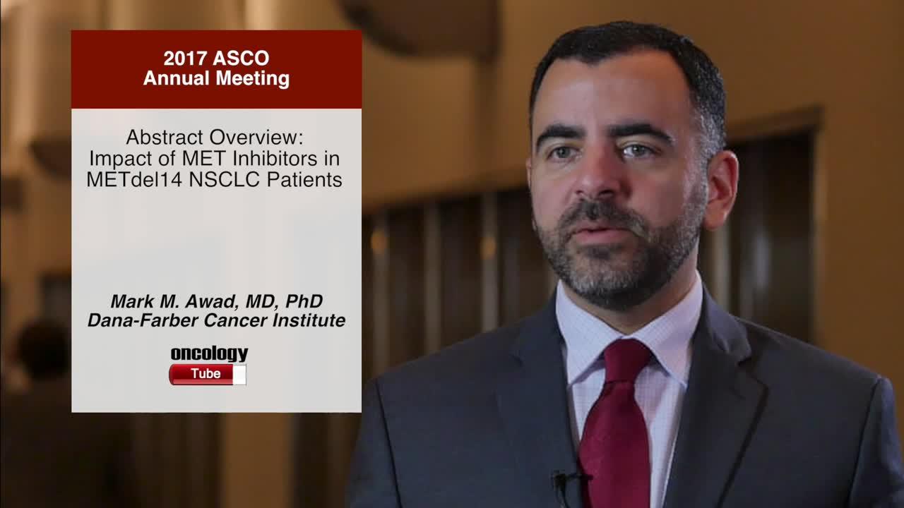 Abstract Overview: Impact of MET Inhibitors in METdel14 NSCLC Patients
