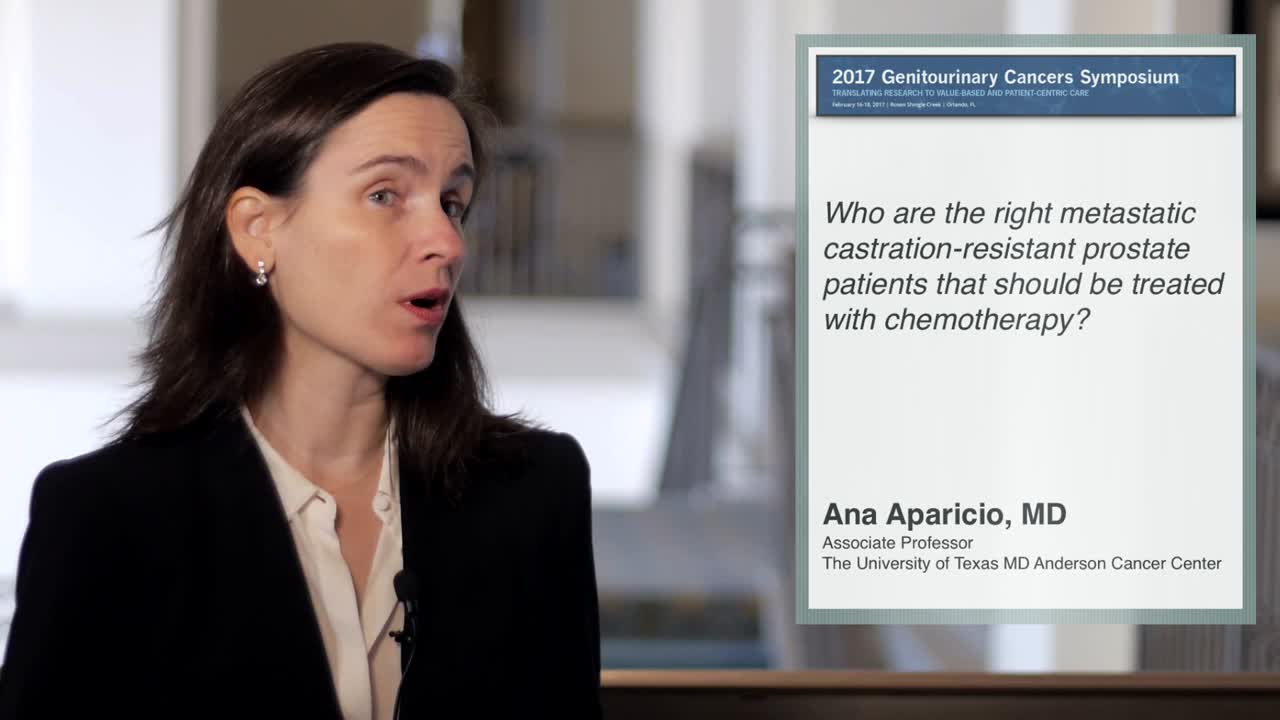 Chemotherapy for Metastatic Castration-Resistant Prostate Patients